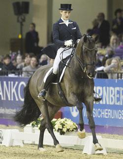 Beatrice Buchwald gewinnt Nuernberger Burg-Pokal 2013