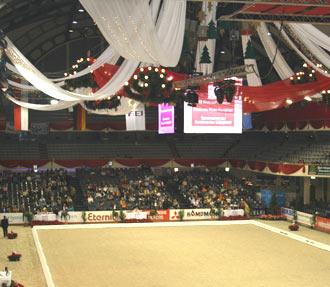 Reitturnier in Frankfurt Festhalle 2013