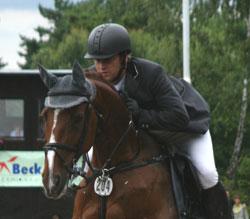 Heinz Eufinger mit Germaine Hessenmeister 2008