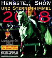 Hengste, Show und Sternenhimmel in Celle 2008